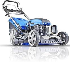 Hyundai Petrol Lawnmower Self Propelled Push Button Electric Start Lawn Mower 196cc, 20 Inch, 51cm, 510mm Cutting Width, M...