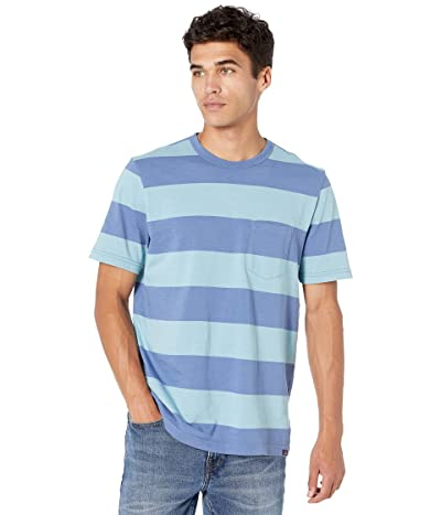 Faherty Rugby Stripe Pocket Tee