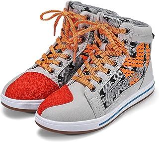 YUNZHI Chaussures et Bottes de Moto et de Moto Chaussures de Course Longues à Lacets Imperméables, Très Approprié pour Voy...