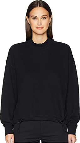 Long Sleeve Mock Neck Pullover
