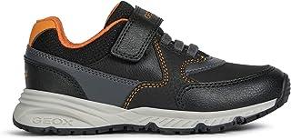 Geox Boys Big_Kid Bernie 26 Black Sneakers