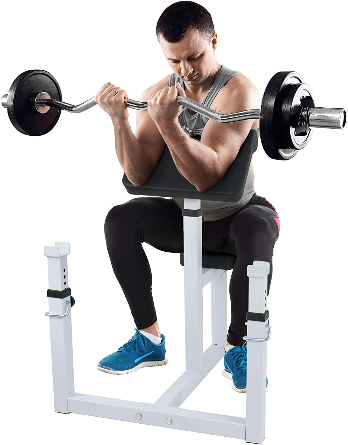 Zeny Preacher Curl Weight Bench Review
