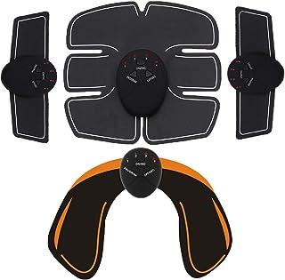 PPLAS Abdos Muscle électrique Stimulateur sans Fil Fesses Hip abdominaux ABS Stimulateur Body Fitness Minceur Massager App...