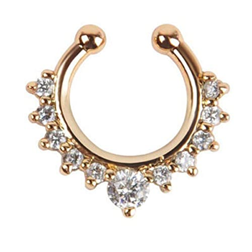 Faux Septum Nose Rings Amazon Co Uk
