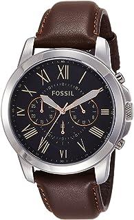 Fossil Grant Chronograph Black Dial Men's Watch - FS4813I