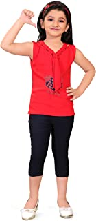 Trend Fashion Girls Top and Pant Set | Girls Casual Top-Pant 2-10 Years