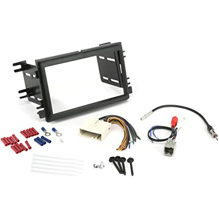 SCOSCHE Install Centric ICFD6BN Compatible with Select Ford/Linc/Merc 2004-08 Double DIN, Premium Sound Complete Basic Installation Solution for Installing an Aftermarket Stereo