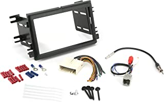 Install Centric ICFD6BN Ford/Lincoln/Mercury 2004-08 Double DIN, Premium Sound Complete Installation Solution for Car Stereos