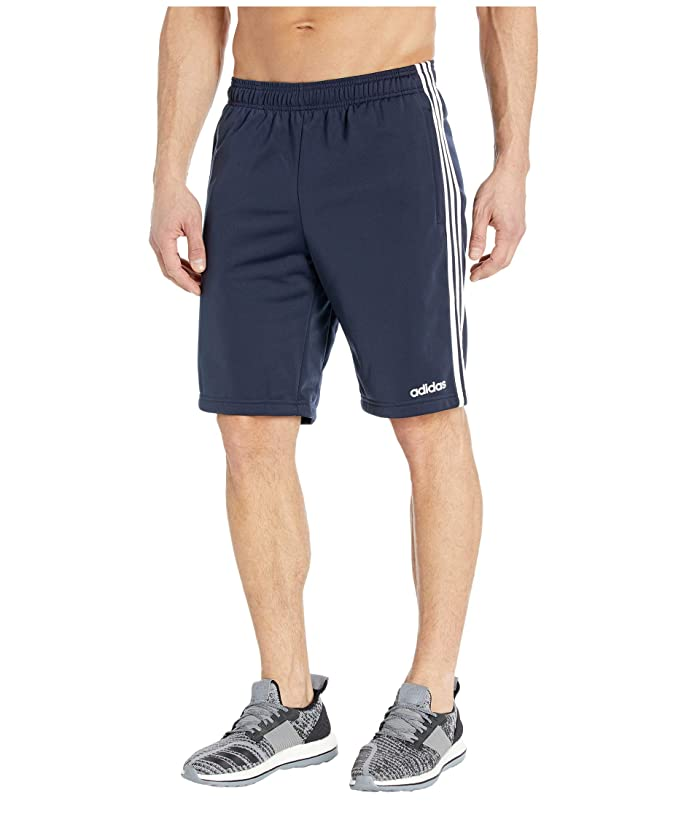 adidas  Essentials Tricot 3-Stripes Shorts (Legend Ink/White) Mens Shorts