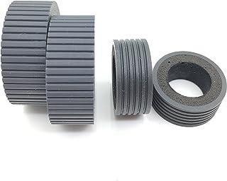 OKLILI PA03540-0001 PA03540-0002 remrol Pick Roller Pickup Roller Tire Rubber Compatibel met Fujitsu fi-6240 fi-6140 fi-62...