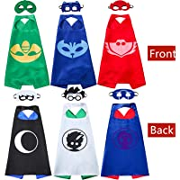 NuGeriAZ Costume Double Sided Design Party Kids Capes