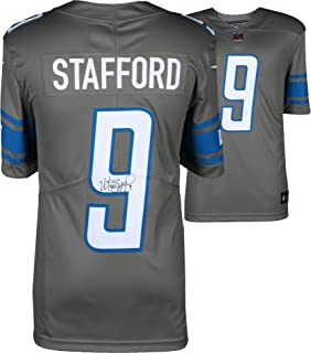 Matthew Stafford Detroit Lions Autographed Grey Color Rush Nike Limited Jersey - Fanatics Authentic Certified