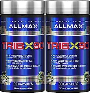ALLMAX Nutrition Trib X 90 Pure Tribulus Terrestris 750 mg - 90 Capsules (2 Pack)