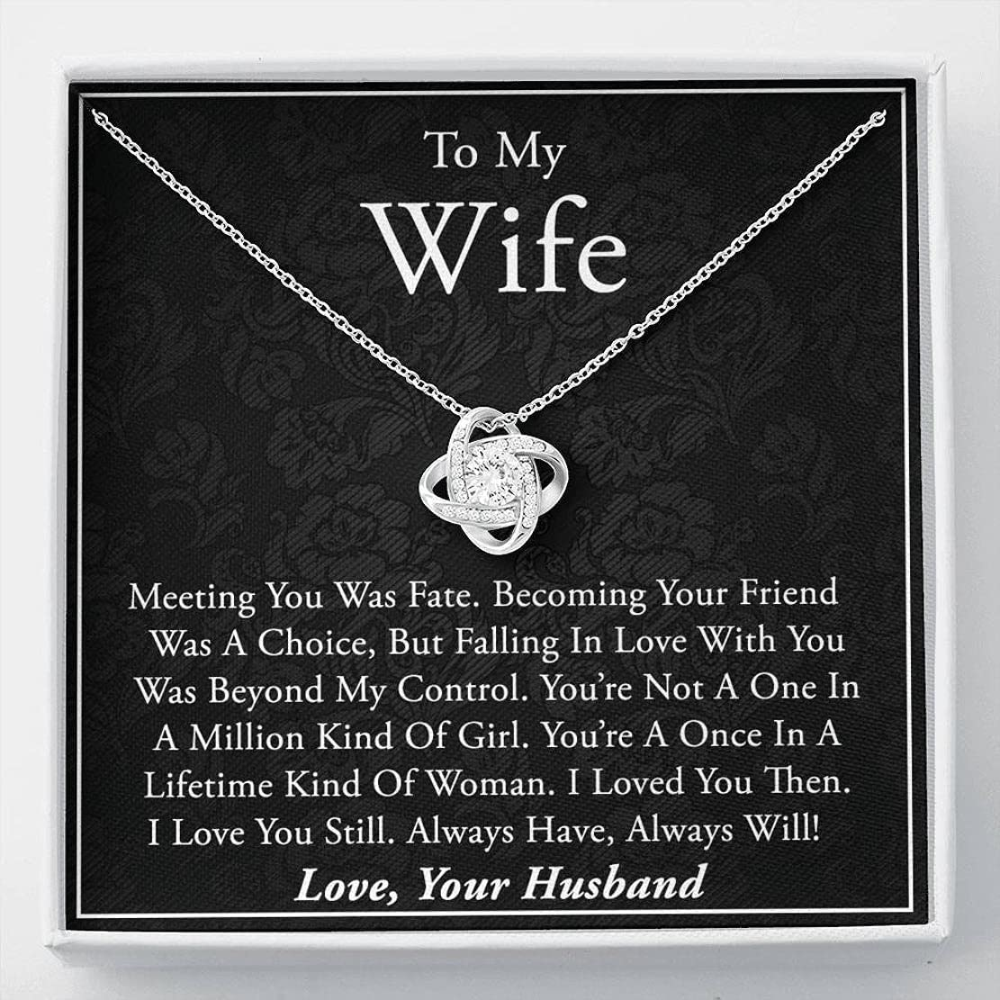 Surprise Gifts To My Wife Necklace - Popular Ranking TOP15 product Gift for In Lifetime a Wif