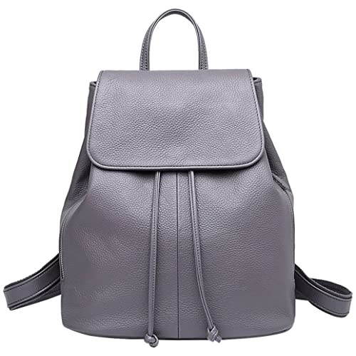 bb3c0f9a21b BOYATU Genuine Leather Backpack for Ladies Elegant Women Travel School  Shoulder Bag