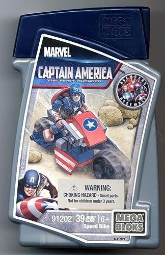 Mega Bloks Marvel Captain America Stark-Lab (39 pcs)