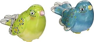 Appletree Design Birds of Fancy Salt and Pepper Set, 2-1/8-Inch, 2-3/8-Inch