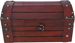 Storage Box, Wooden Storage Box, S With Password Lock Alloy Material Lock Hand-made Exquisite And Beautiful for Earring Je...