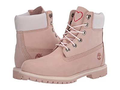 Timberland 6 Premium Boot (Light Pink Nubuck Love) Women