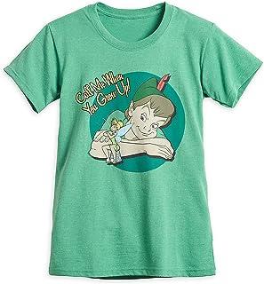 Disney Peter Pan and Tinker Bell T-Shirt for Women Green