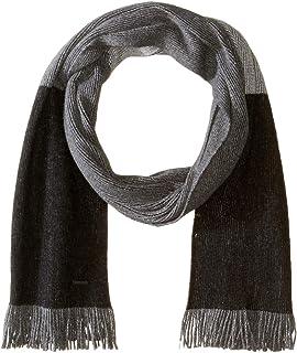Hugo Boss Men's Mandus Striped Wool Scarf