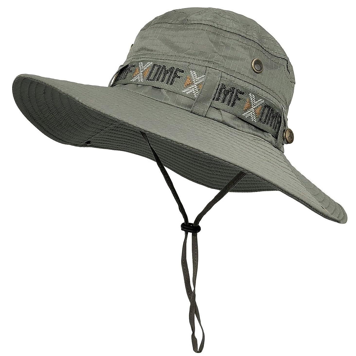 LETHMIK Fishing Sun Boonie Hat Waterproof Summer UV Protection Safari Cap Outdoor Hunting Hat