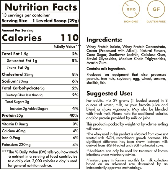Solgar Whey To Go Proteína de suero en polvo (Sabor vainilla natural) 340 g