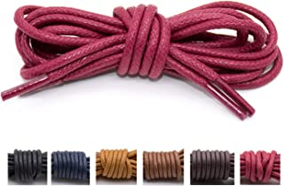 Waxed Boot Shoelaces 10 Colors 27