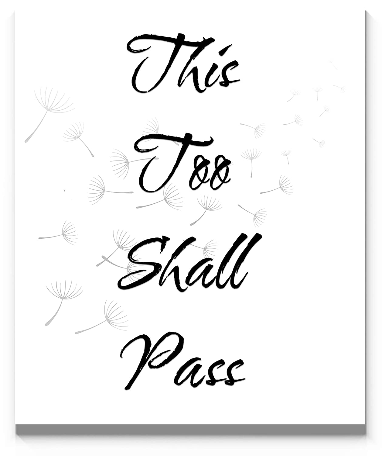 This Too Shall Pass free Wall Art Print Max 68% OFF inch. Mo To Ready 11x14 Frame