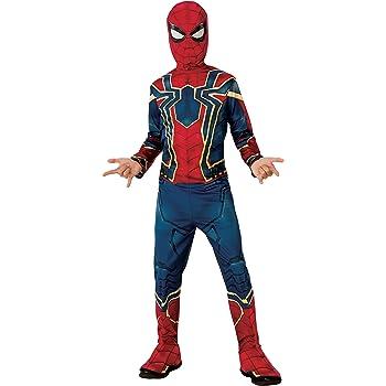 Rubies Iron Spider Infinity War - Disfraz para niño, S (3-4 años ...
