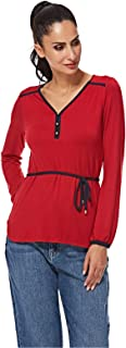 NAUTICA Blouses For Women, Red S