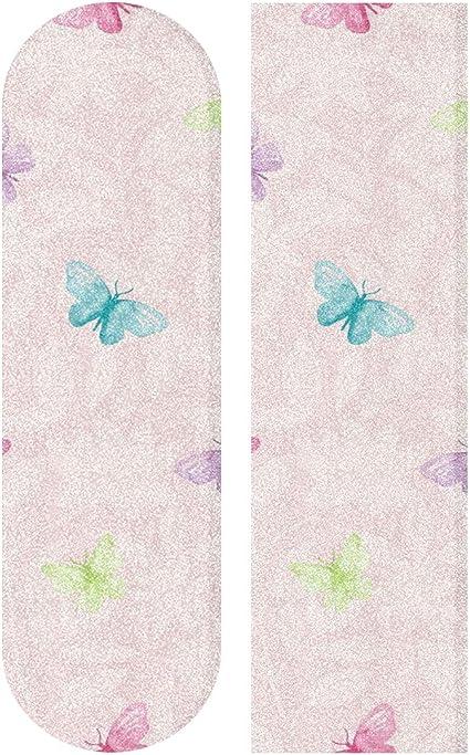 Floral Panda Sandpaper for Rollerboard Longboard Griptape Bubble Free Longboard Grip Tape Skateboard Grip Tape Sheet 33 X 9 Inch