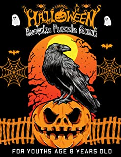 Halloween Sudoku Puzzle Book For Youths Age 8 Years Old: Coloring book,Huge Brain Collection And Challenging Puzzles with ...