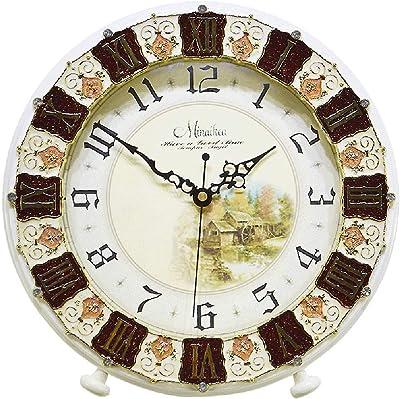 SUIBIANBA Reloj Mudo Antiguo Salón Creativo Reloj De Cuarzo