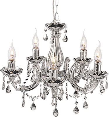 Penelope 10 light Chandelier crystal Home, Lighting
