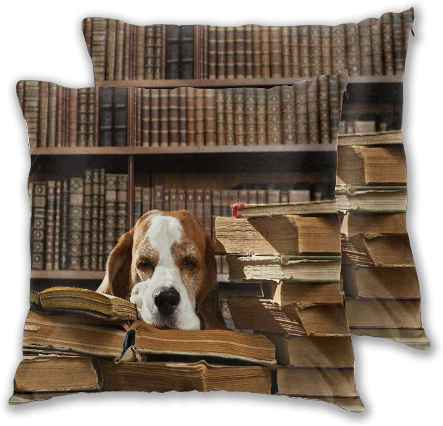 TISAGUER Throw Pillow Covers Set of 2 Dog T Super special price Smart in OFFer Thinks Very