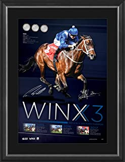 Sport Entertainment Products Winx Dual Signed 'Winx3'