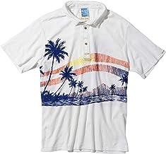 パームスネイク×オーシャンパシフィック ポロシャツ ホワイト