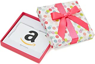 Amazon.com Gift Card in a Dot Box (Classic White Card Design)