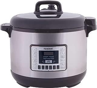 NuWave  33501 Nutri-Pot Pressure Cooker, 13 Quart, Silver & Black