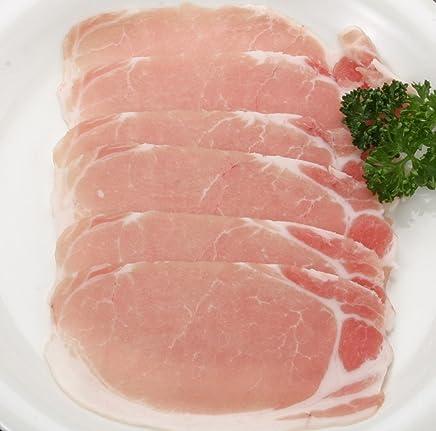 かごしま産黒豚下ロース肉 ( しゃぶしゃぶ用?約1mm) 100g