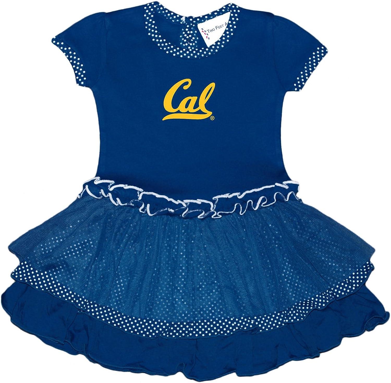 Two' Ahead Toddler Pin Dot Tutu Dress, 4, Navy