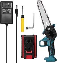 Duotar Mini-serras de poda elétricas portáteis de 21V Recarregável pequena serra elétrica de divisão de madeira Ferramenta...