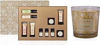 Kama Ayurveda 10 PIECE BESTSELLER GIFT BOX With Natural Jasmine Candle