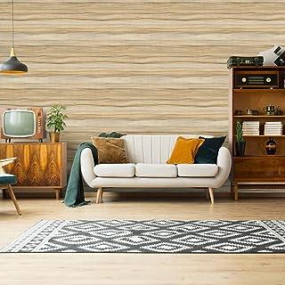 Homya 壁紙シール 45cmx6m 木目 リメイクシート 和室風 はがせる壁紙 接着剤不要 DIYシート 防水 防カビ ウォールステッカー