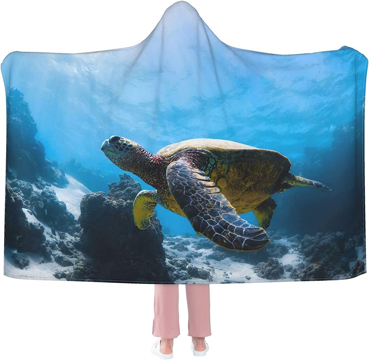 Brown Turtle Swimming Ocean World Coral Reefs Near Blanke Challenge the lowest price Hooded Japan Maker New