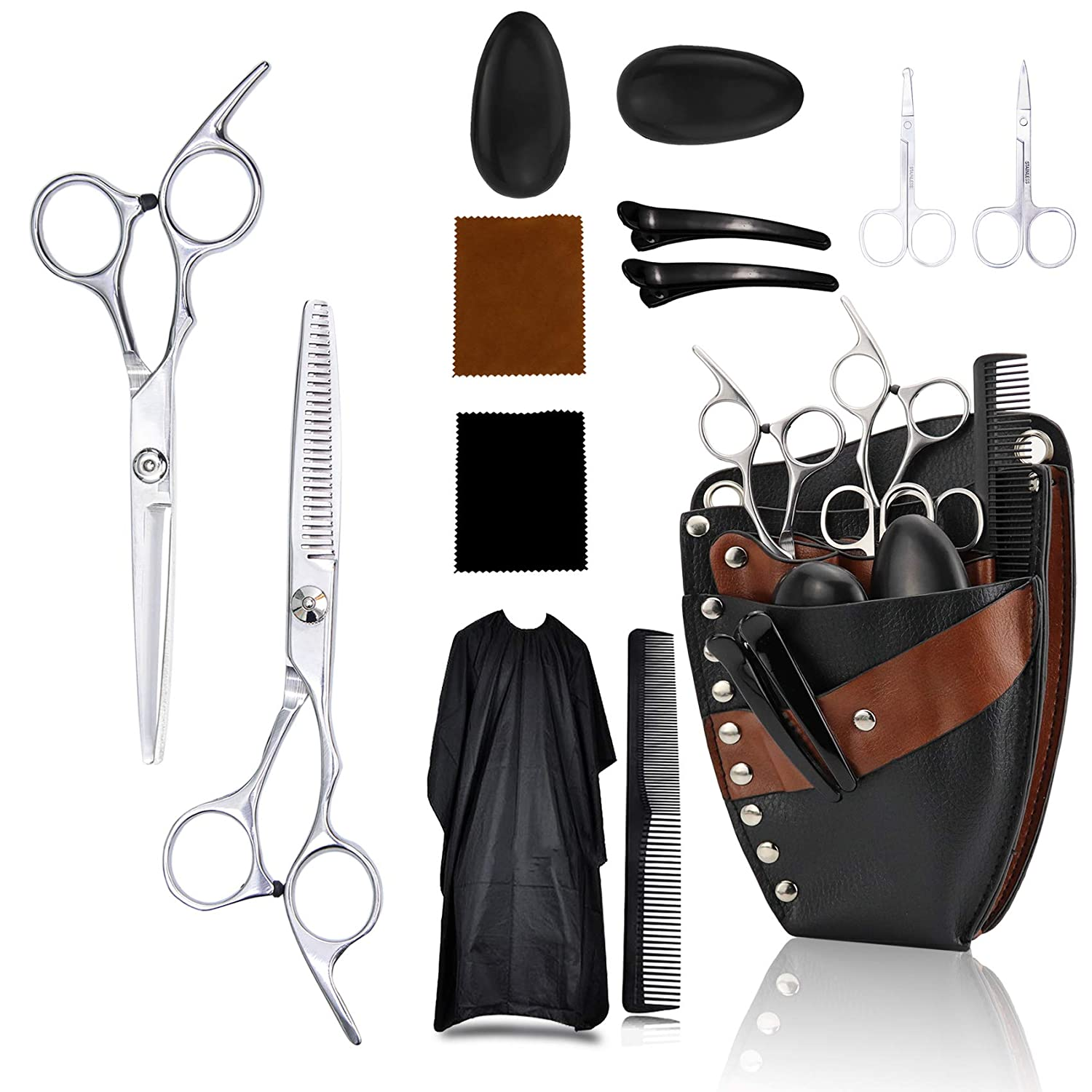 Hair Cutting Scissors Set Hairdressing with Exquisite Tool Superlatite Hairc Easy-to-use