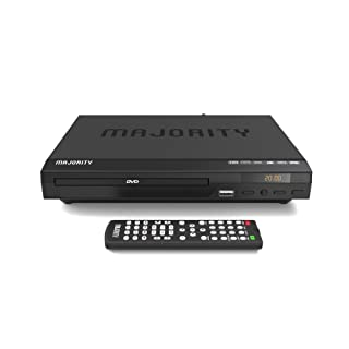 Majority Scholars Compact DVD Player, Multi-Region Region Free, USB Port, DivX, RCA & HDMI Port, Built-in PAL/NTSC System,...