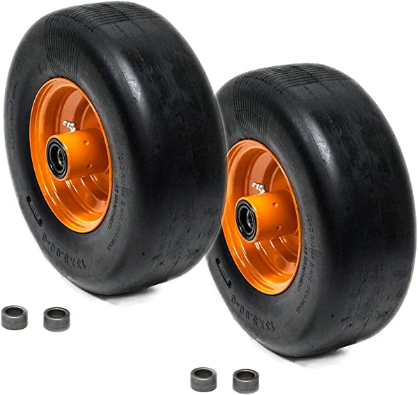 2PK Scag Front Solid Tire 9277 482503 Flat Free Puncture Proof 13x5x6 13x5 00 6 3 25