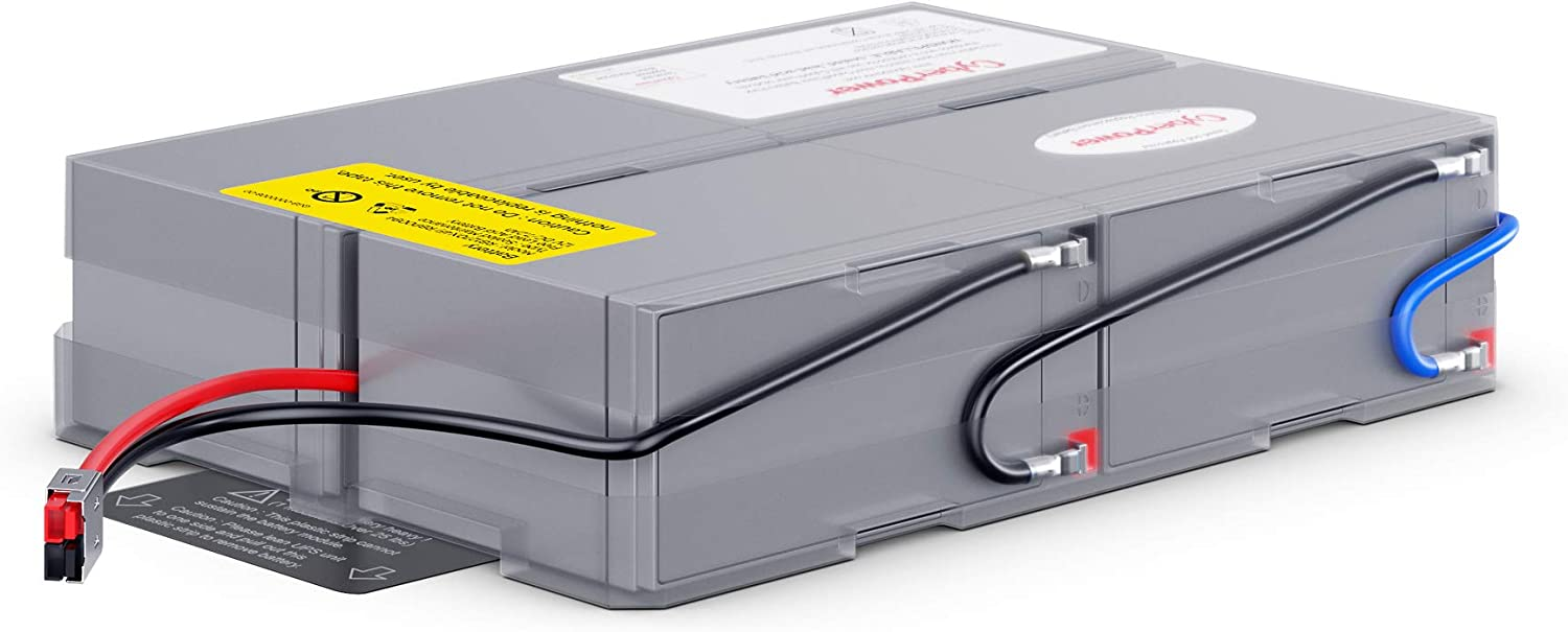 CyberPower RB1270X4F UPS Replacement Battery Cartridge, 12V/7Ah